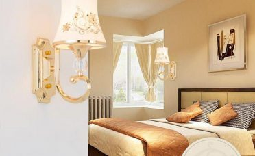 Interior Design For Wall Sconces For Living Room Of European Glass Lamp Fashion Bedroom Lamp