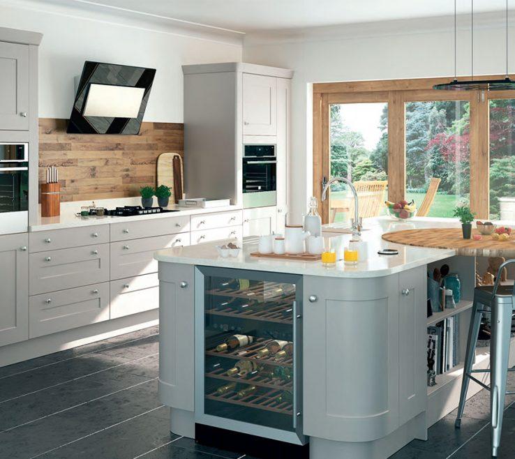 Kitchen Design Of Purple Pepperpot Kitchen Design And Build London