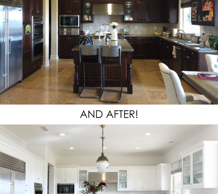 Kitchen Remodel Before And After Of Studio Mcgee