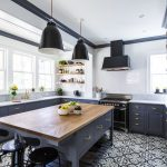 Kitchen Renovation Of Before And After A White And Gray Photos
