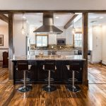 Kitchen Renovation Of Open Floor Plan Flows From The Into