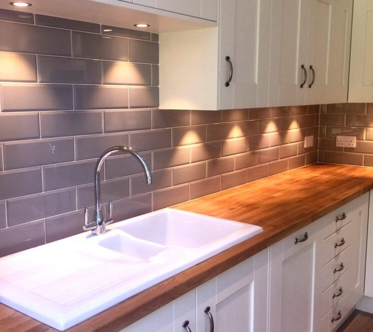 Kitchen Tiles Of Our Edge Grigio Look Lovely In A