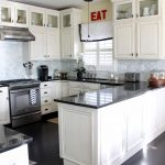 Kitchens With Black S Of Stunning White Kitchen S And Chairs