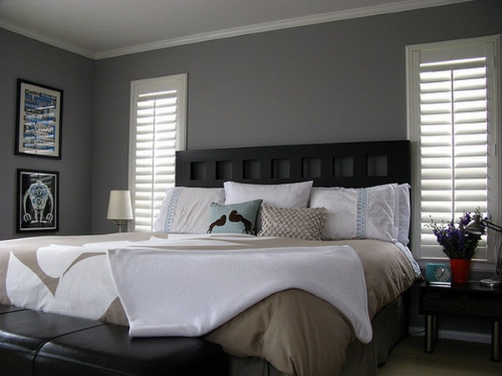 Light Grey Bedroom Walls Of Entrancing Images Of Modern White