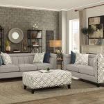 Light Grey Living Room Of Temptation Set