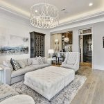 Light Grey Living Room Of With And White Tones By Troyer Builders