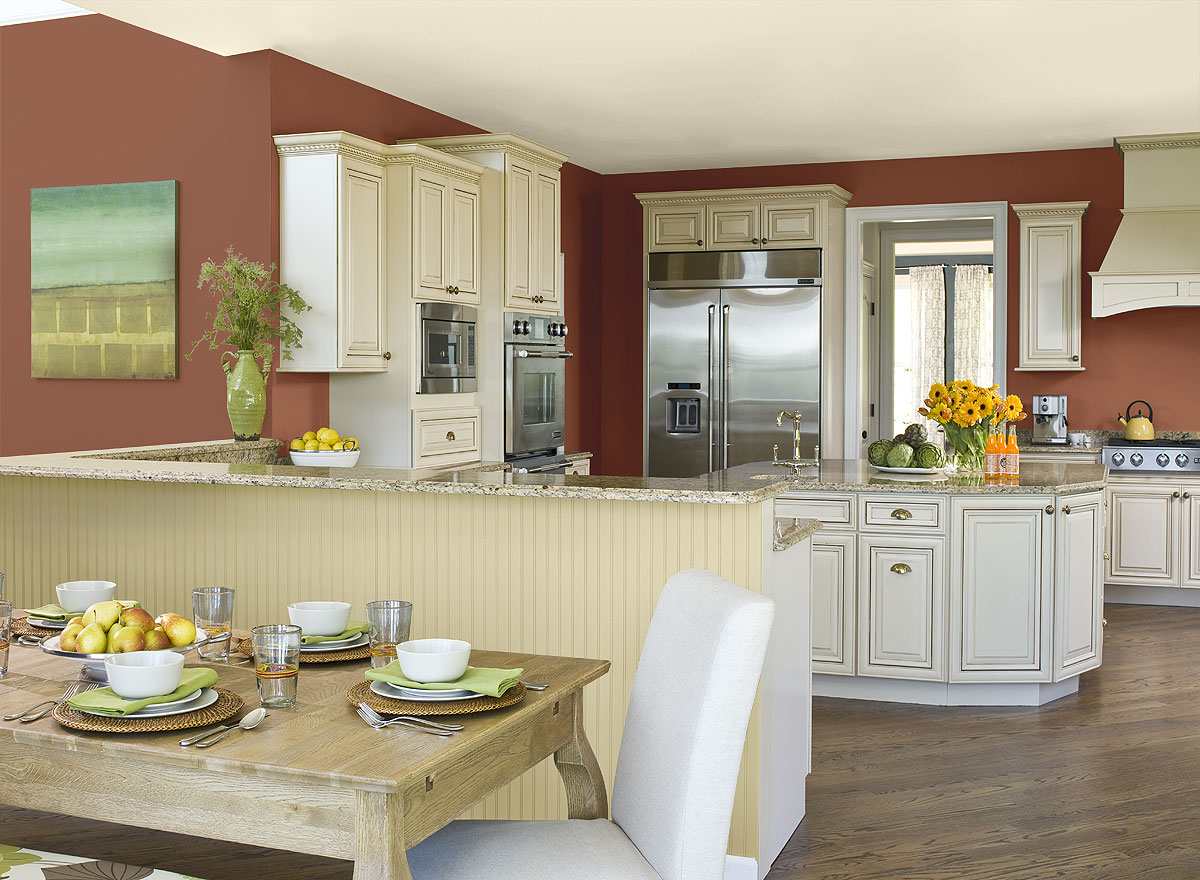 Likeable Benjamin Moore Kitchen Colors Of Paint Colours Cozy Popular Trends Light Green Acnn Decor