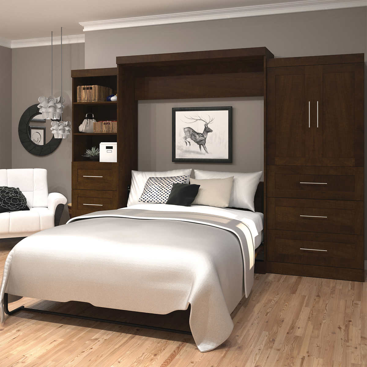 Likeable Wall Unit Bedroom Sets Of