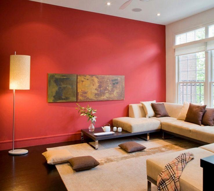 Living Room Ideas Of Chic Paint Cream