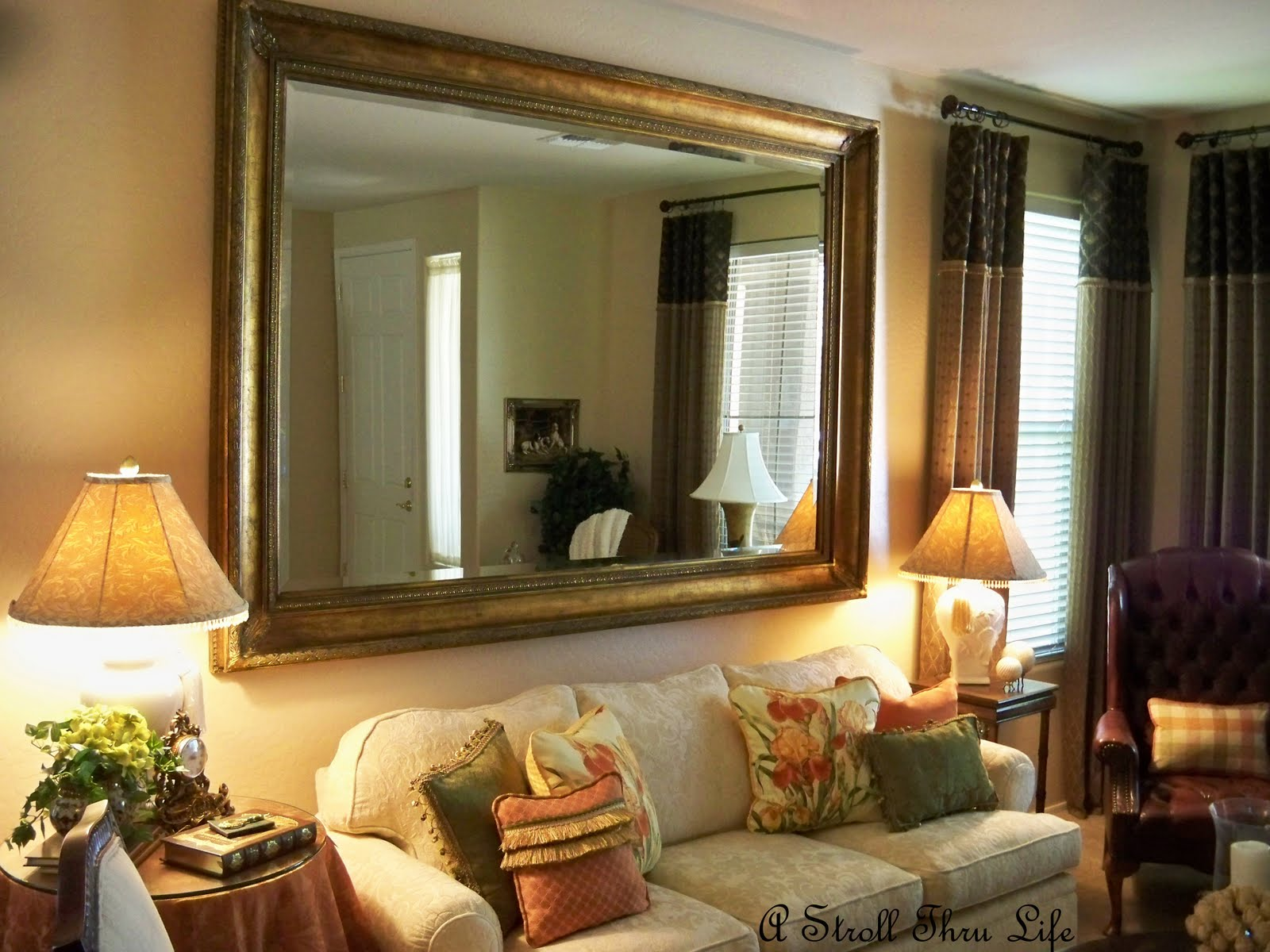 living room wall mirrors of for room doing it right big 652