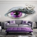 Lovely Bedroom Wall Painting Of d Paintings Ideas