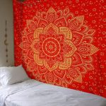 Lovely Bedroom Wall Tapestry Of Mandala Boho Beach Towel Printed Bohemian