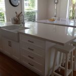 Lovely Kitchen Island With Sink Of Islands Sinks Microwave Oven Bar Varnished