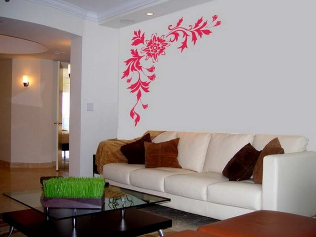 Lovely Wall Painting Designs For Living Room Of Paint Easy Ideas Ideas