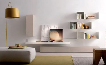 Lovely Wall Units For Living Rooms Of Awesome White Room Cubicles Shelves