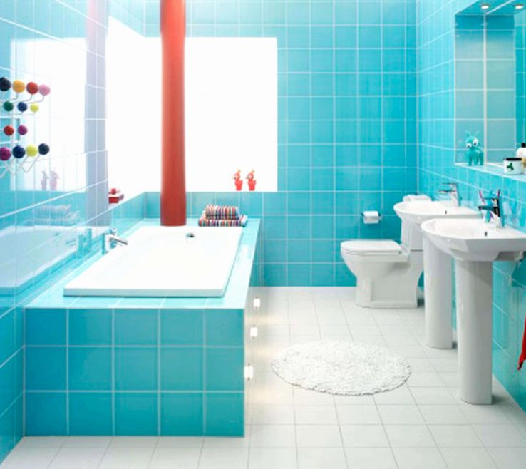 Magnificent Bathroom Tile Refinishing Of Delightful With Unique Floor Ideas Graph