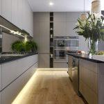 Magnificent Contemporary Kitchen Of Grey Cozinha Cinza Via Stylecurator