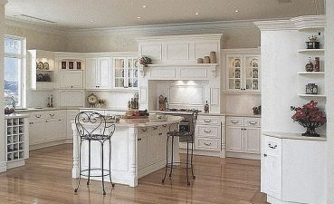 Magnificent Luxury White Kitchen Of Ing Great Italian Home Interior