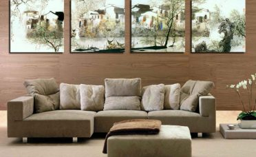 Magnificent Wall Decor Ideas For Living Room Of In Modern Treatment