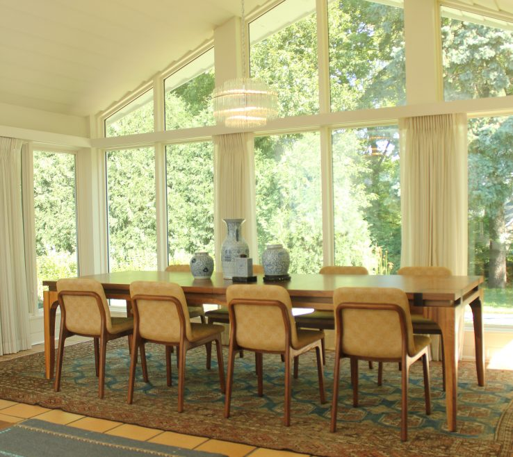 Mid Century Modern Dining Room Of Designed By Gunkelmans Interior Design Designer Kayla