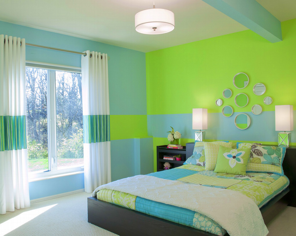 Picturesque Green Bedroom Walls Of Paint Color Shade Ideas Blue Acnn Decor