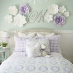 Purple Wall Decor For Bedrooms Of Paper Flower Templates By Paperflorareview Girls Room
