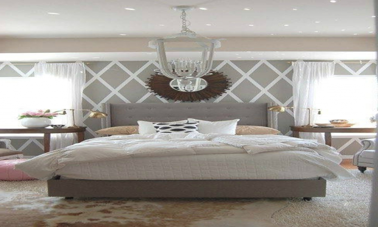 Remarkable Accent Walls In Bedroom Of Wall Wallpaper Living Room Ideas Graygrey
