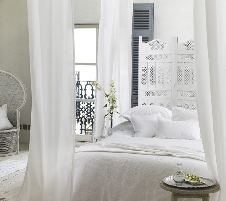 Remarkable All White Bedroom Of Lovely Ethereal And Romantic With Quirky
