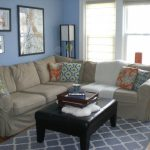Remarkable Tan Living Room Walls Of Wonderful Blue And Grey Blue And Ideas