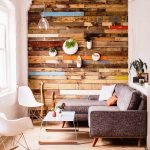Sophisticated Accent Wall Living Room