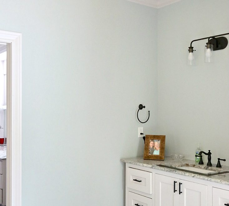 Sophisticated Bathroom Paint Colors Of Color Is Sea Salt Sherwin Williams