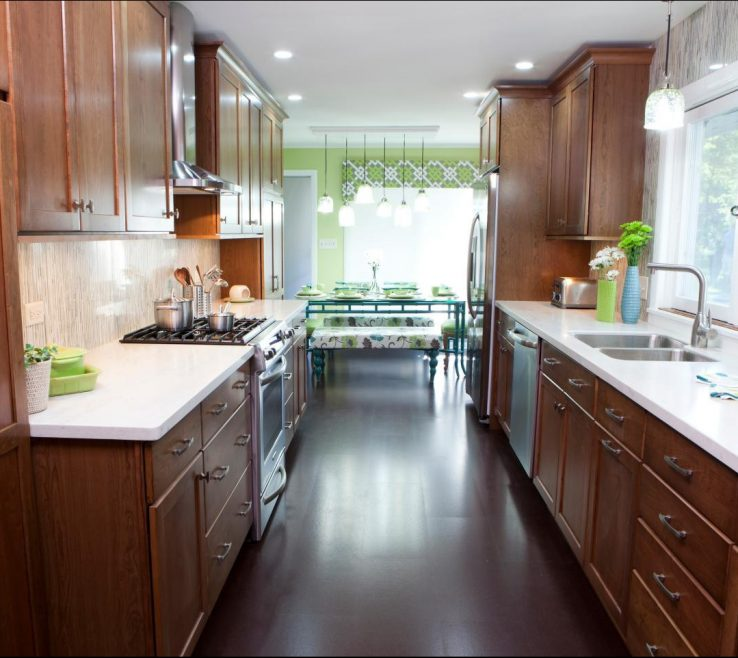 Sophisticated Kitchens Of Galley Kitchen Designs With Design Ideas