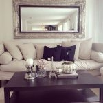 Sophisticated Living Room Wall Mirrors Of Roomlarge Beautiful Mirror With Extraordinary Picture