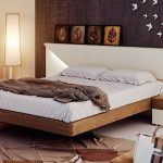 Sophisticated Master Bedroom Wall Decor Ideas Of Diy Mounted White Wooden Rectangle Small Bed