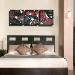 Superbealing Bedroom Wall Decor Of Sets Piece Cheap Hd Picture Prints