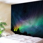 Superbealing Bedroom Wall Tapestry Of New Psychedelic Night Sky