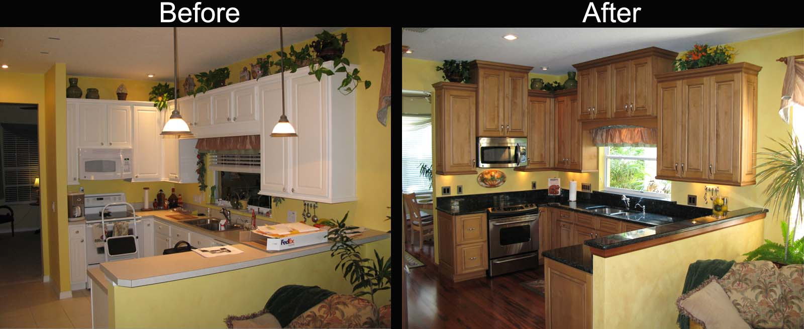 Superbealing Kitchen Renovation Before And After Of S Renovations Acnn Decor