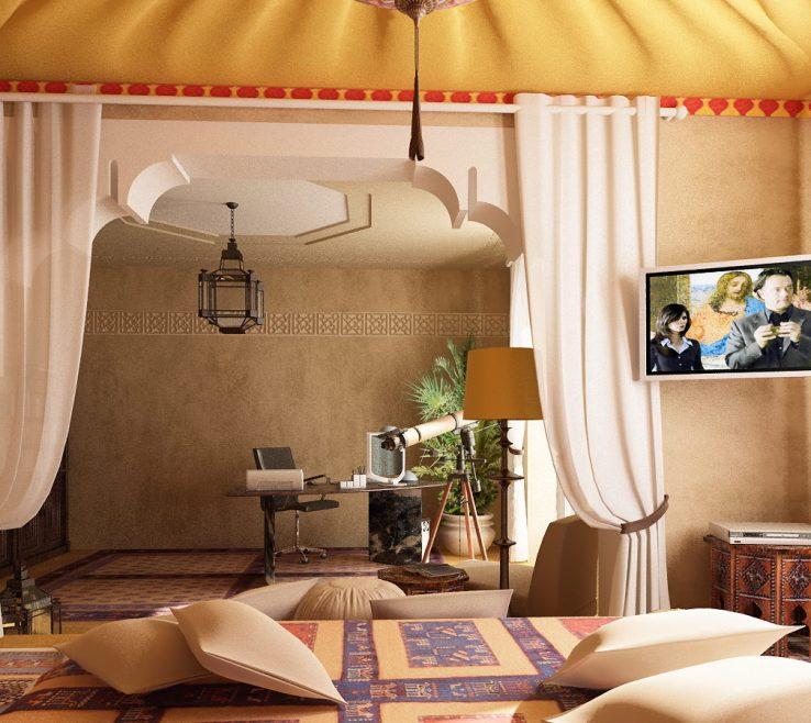 Terrific Bedroom Decoration Of Moroccan Decorating Ideas