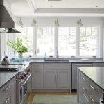 Terrific Kitchens With Black S Of White S What Color Walls Dark Granite