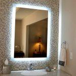 Terrific Lighted Bathroom Wall Mirror Of Improbable Extension Lights Mirrors Ideas Mirrors Ideas