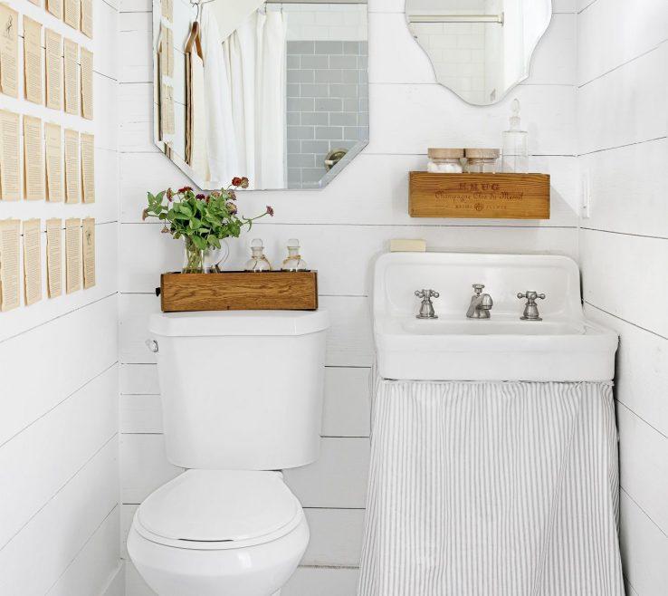 Terrific White Bathroom Ideas Of Ways To Decorate Your
