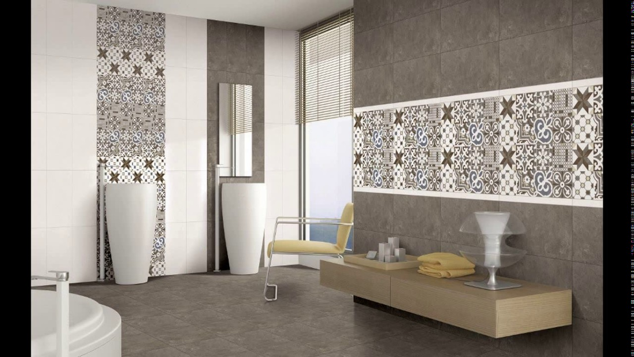 Unique Bathroom Wall Pictures Ideas Of Tiles Design Kajaria Youtube