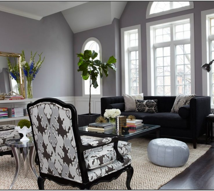 Unique Grey Paint Ideas For Living Room Of Modest Gray