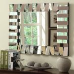 Unique Living Room Wall Mirrors Of Image Of Mounting Gallery