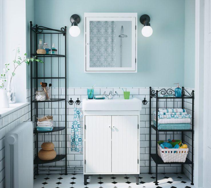 Vanity Bathroom Ideas Of A With White SilverÅn Wash