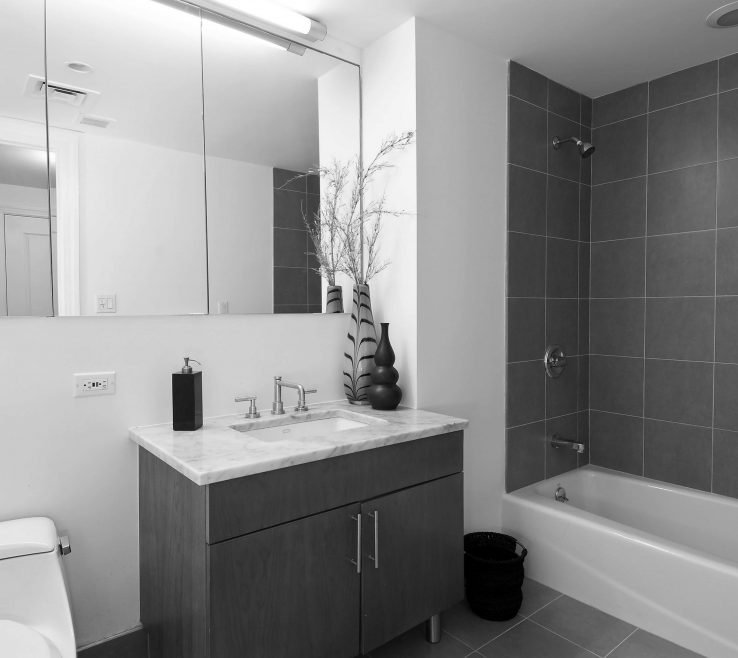 Vanity Gray Bathroom Ideas Of Unique Small Grey Design