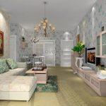 Vanity Light Grey Living Room Of Effect Map