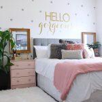 Vanity Wall Decor Teenage Girl Bedroom Of Ideas Perfect Surprise Teen S Makeover