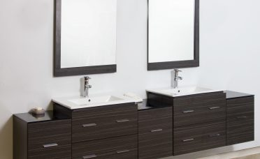 Wall Mount Bathroom Of American Imaginations Double Modern Vanity Set