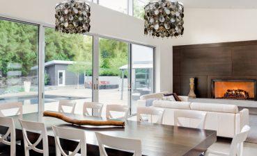 Wonderful Dining Room Lighting Ideas Of Crystal Chandeliers